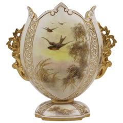 Grainger Worcester Royal China Works Blush Vase, 1892