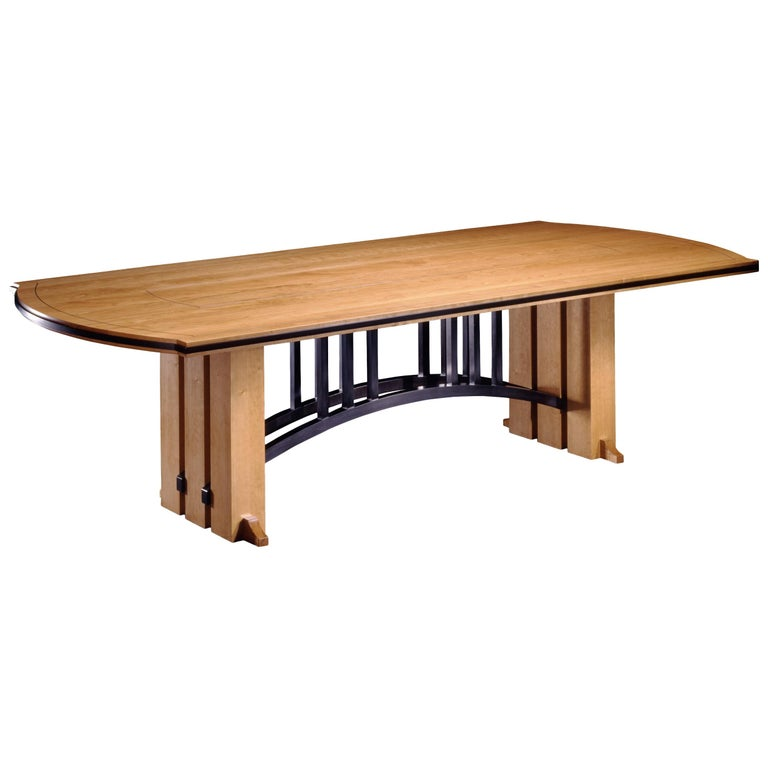Gramercy Tavern Dining or Desk Table, Hand crafted and Designed by Gregg Lipton For Sale