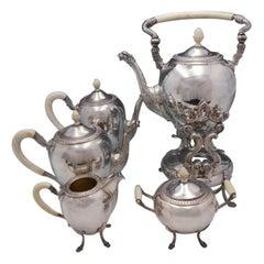 Gran Paris by Camusso Sterling Silver Tea Set 5-Piece Griffin Spouts