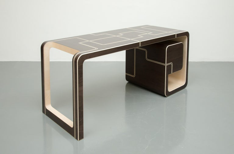 Designed as an elegant and functional desk,