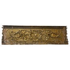 Grand 18th Century Italian Gilt Paliotto/ Architectural Front of Altar