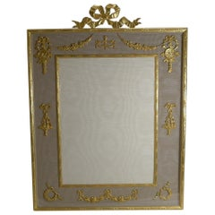 Grand Antique French Gilded Bronze Photograph / Picture Frame, circa 1900