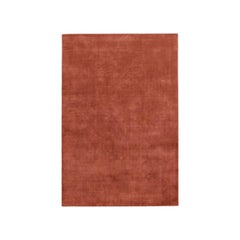Grand Brick Red, Wool Cut Pile Rug