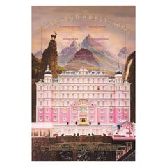 Grand Budapest Hotel, The '2014' Poster