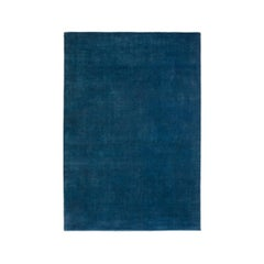 Grand Deep Blue, Wool Cut Pile Rug