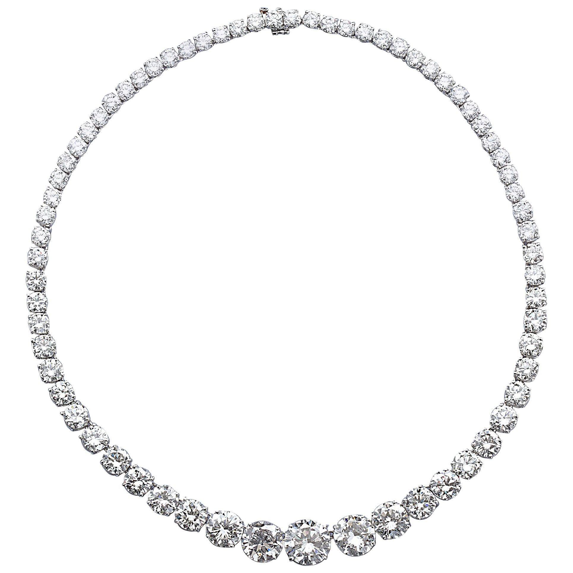 Grand Diamond Rivière Necklace