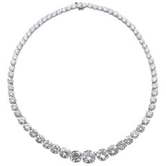 Grand Diamond Rivière Necklace