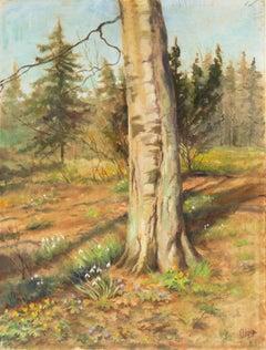 'Spring at Knudsminde Farm', Tsar Nicholas II, Alexander III, Russian Royal