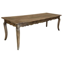 Grand Farm Table, 19th Century Country French