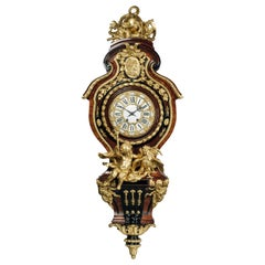 Grand Figural Cartel Clock after Gilles-Marie Oppenord