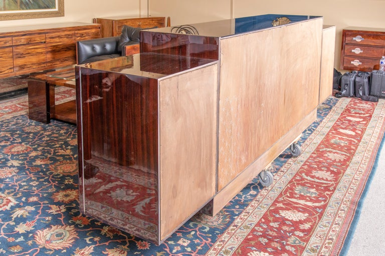 Grand French Art Deco Sideboard For Sale 1