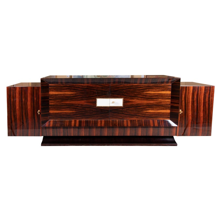 Grand French Art Deco Sideboard For Sale