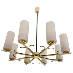 Grand German 1950s Chandelier