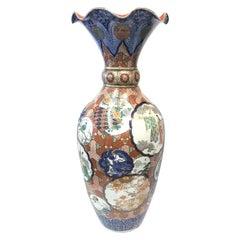 Grand Japanese Imari Vase