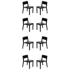 Grand Louvre Side Chair by Jean-Michel Wilmotte for Tecno, Set of 8