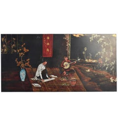 Grand Panel Lacquer Hanoi Young Musicians