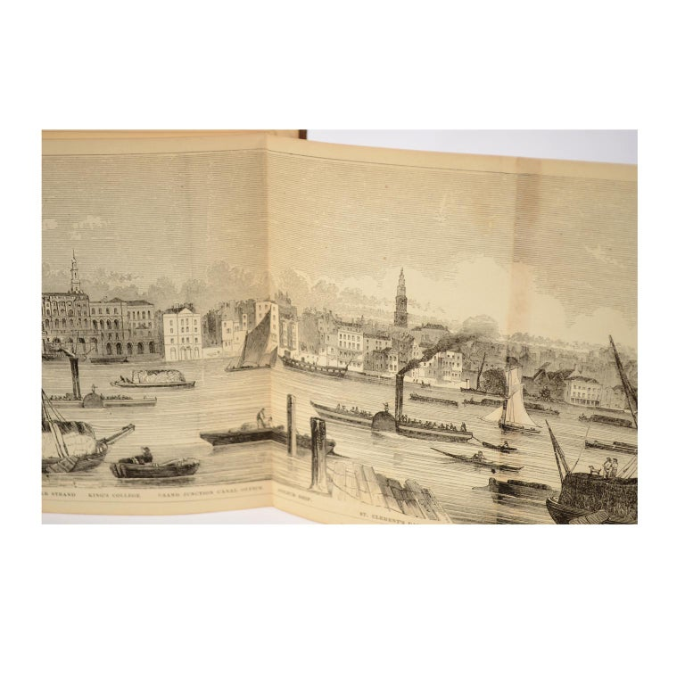 Grand Panorama of London, 1849 For Sale 6
