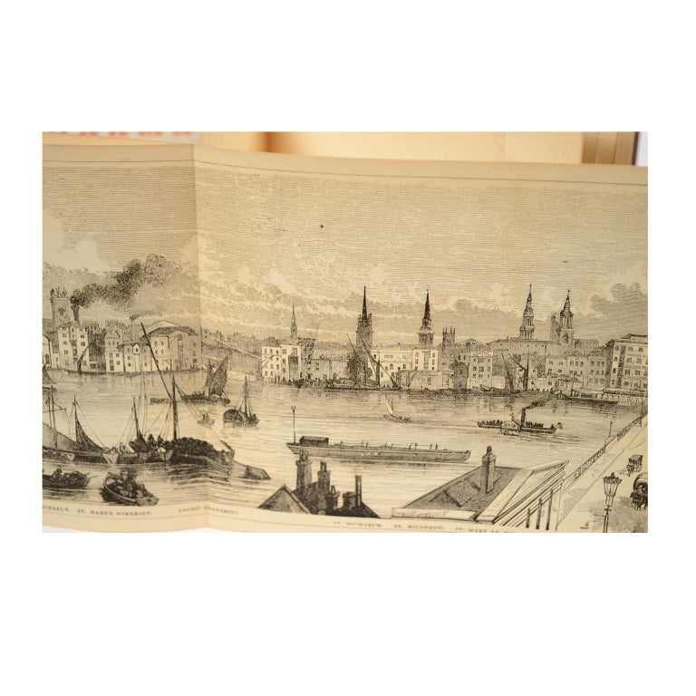 Grand Panorama of London, 1849 For Sale 7