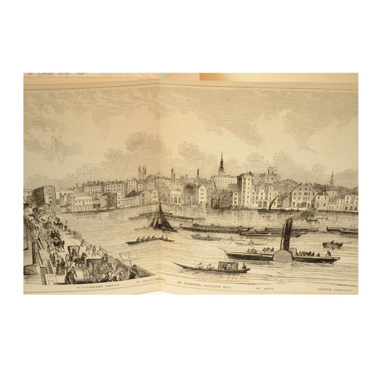 Grand Panorama of London, 1849 For Sale 8