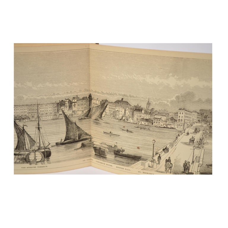 Grand Panorama of London, 1849 For Sale 11