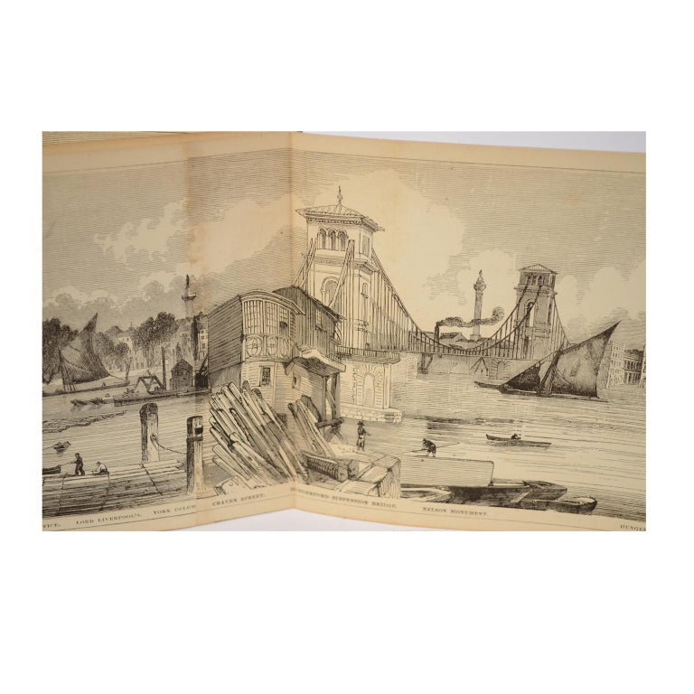 Grand Panorama of London, 1849 For Sale 12