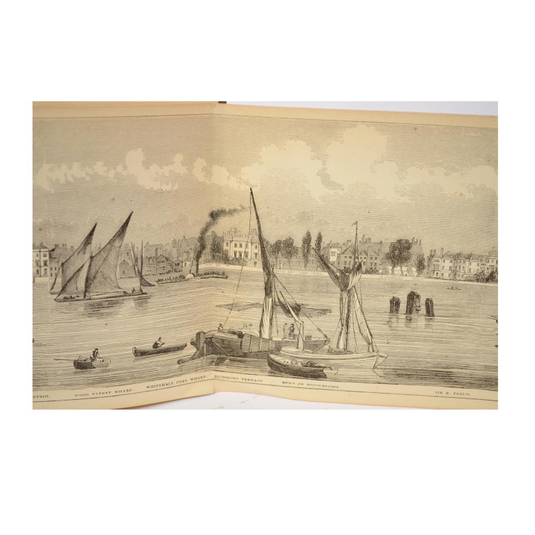 Grand Panorama of London, 1849 For Sale 13