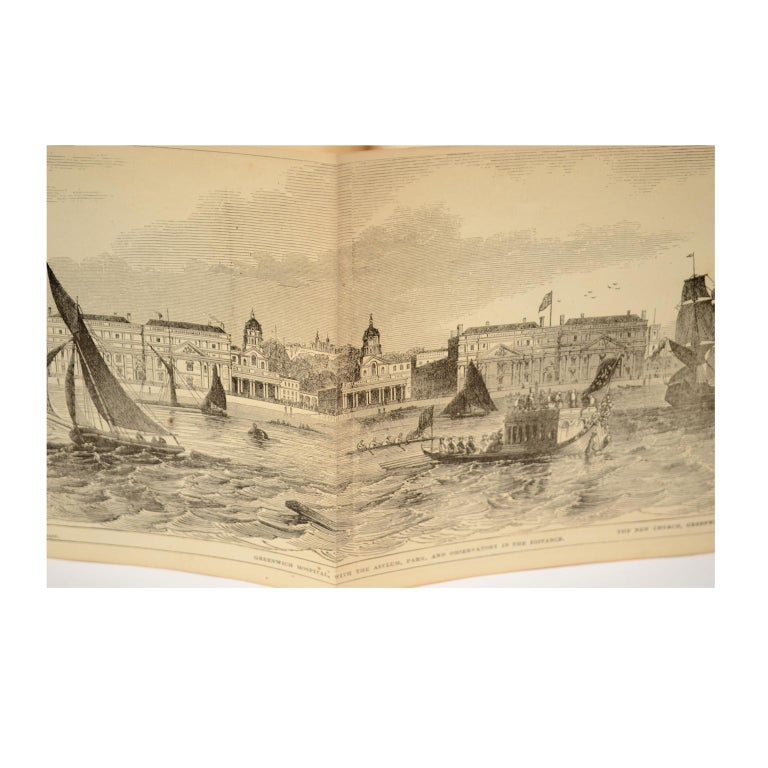 Grand Panorama of London, 1849 In Good Condition For Sale In Milan, IT