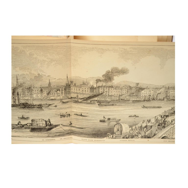 Grand Panorama of London, 1849 For Sale 2