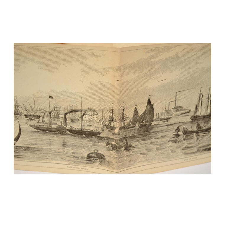 Grand Panorama of London, 1849 For Sale 3