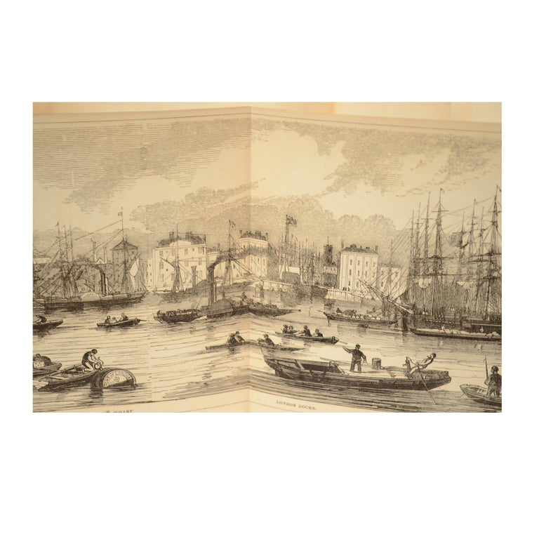 Grand Panorama of London, 1849 For Sale 4