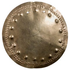 Grand Pre-Columbian Solar Gold Pectoral, Veraguas Diquis, circa 800 to 1500 AD