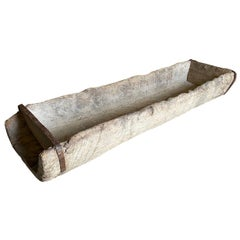 Grand Scale 17th Century Mangeoire, Trough from Spain
