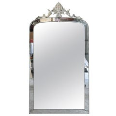 Grand Scale 19th Century Venetian Mirror