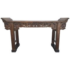 Grand-Scale Qing Dynasty Alter Table