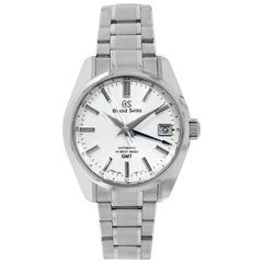 Grand Seiko GMT Stainless Steel Watch