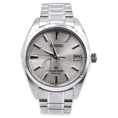 Grand Seiko Stainless Steel Spring Drive Watch Ref. 9R65-0AA0
