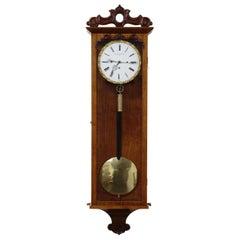 Grand Sonnerie Striking Vienna Regulator Wall Clock