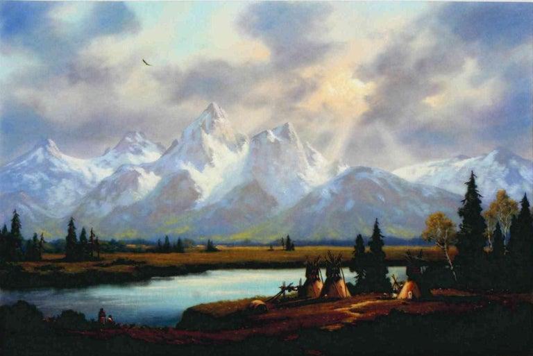 A Gallery favorite artist! (1937-) Oil on panel. Measure: 30