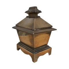 Grand Tour Bronze Sarcophagus Form Box