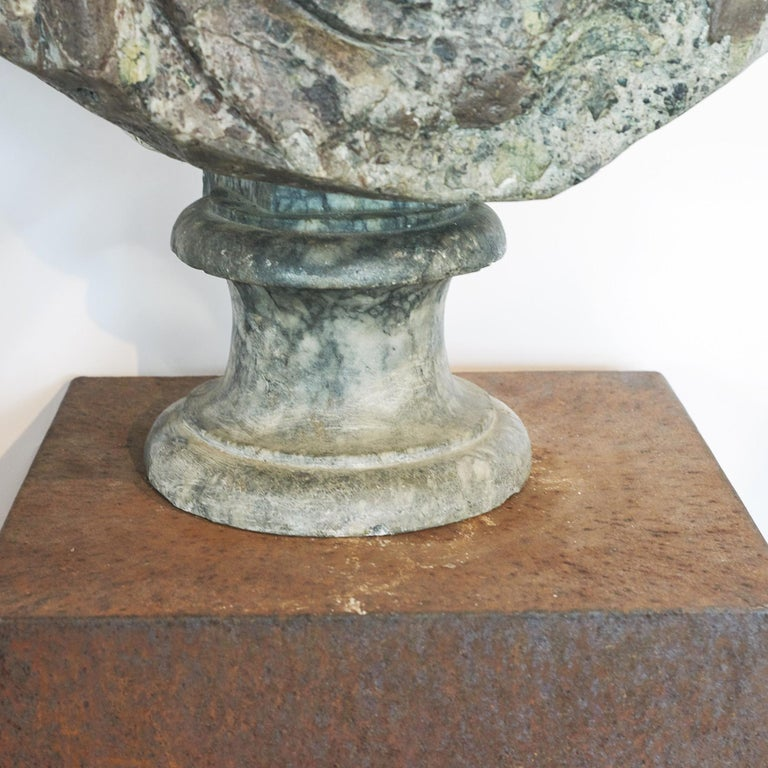 Italian Grand Tour Marble Bust of Emperor Hadrian For Sale
