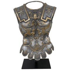 Grand Tour Model of a Roman Breast Plate, Museum Mounted