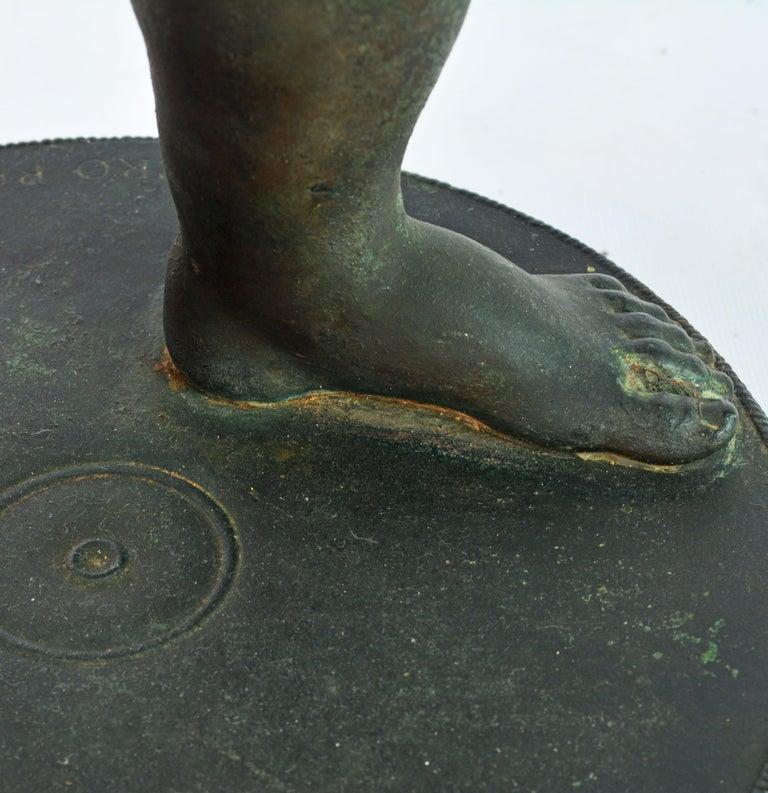 Grand Tour Neapolitan Bronze Fountainhead of the 'Amore Con Delfino' For Sale 4