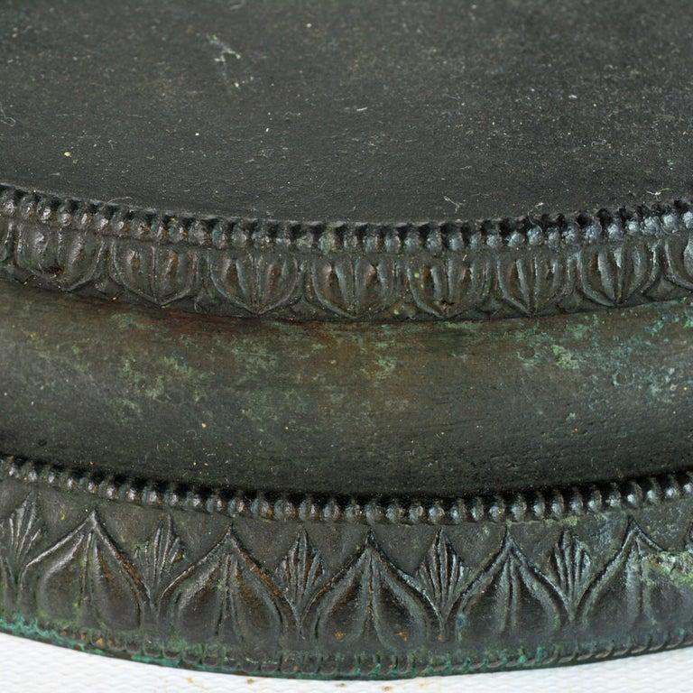 Grand Tour Neapolitan Bronze Fountainhead of the 'Amore Con Delfino' For Sale 5