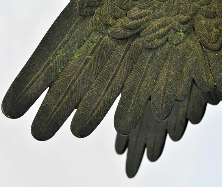 Grand Tour Neapolitan Bronze Fountainhead of the 'Amore Con Delfino' For Sale 7