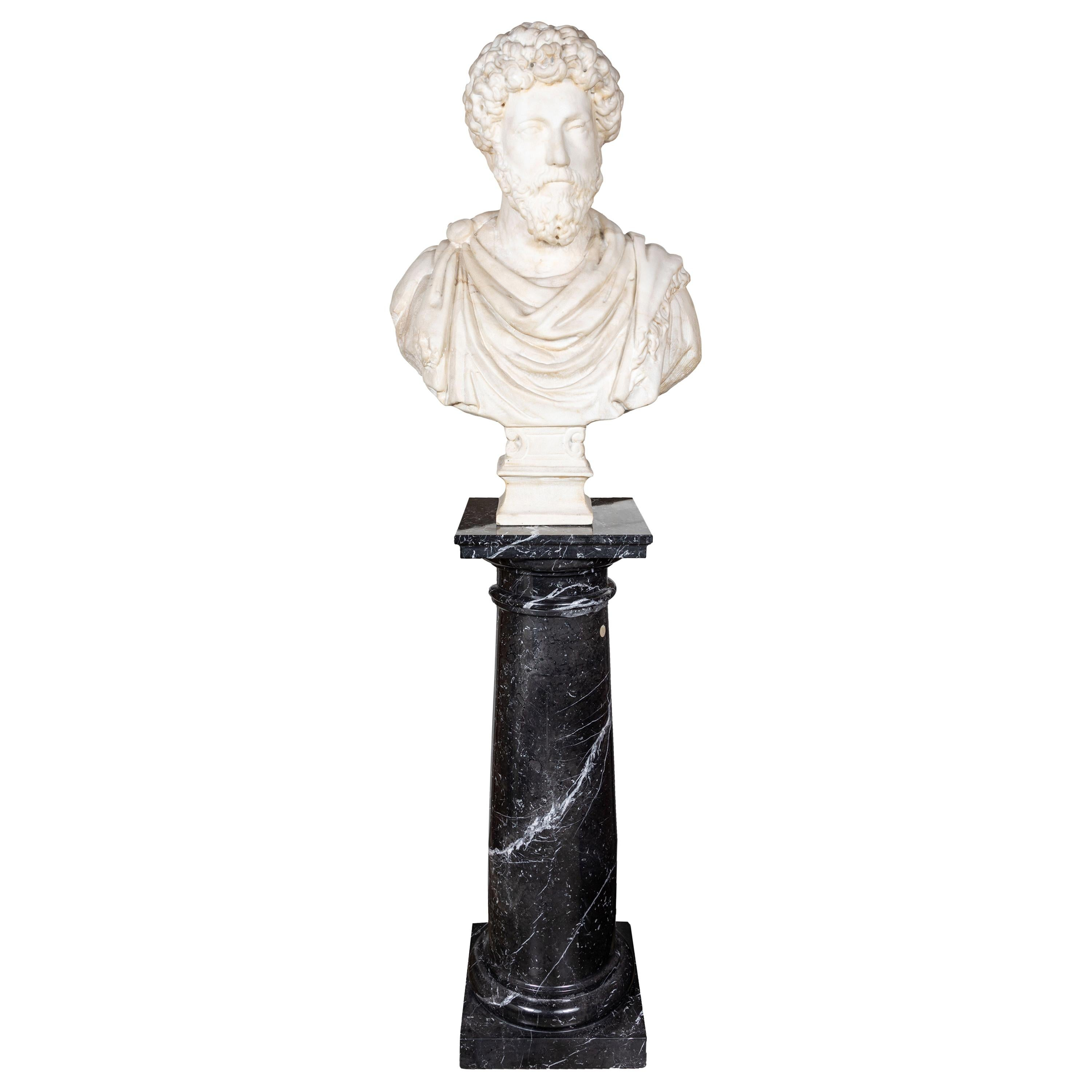 Grand Tour Period, Marble Bust