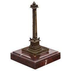 Grand Tour Souvenir Model of the Vendôme Column