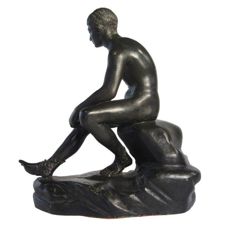 """Grand Tour Souvenir Table-Top Bronze """"Mercury"""" after the Antique For Sale"""