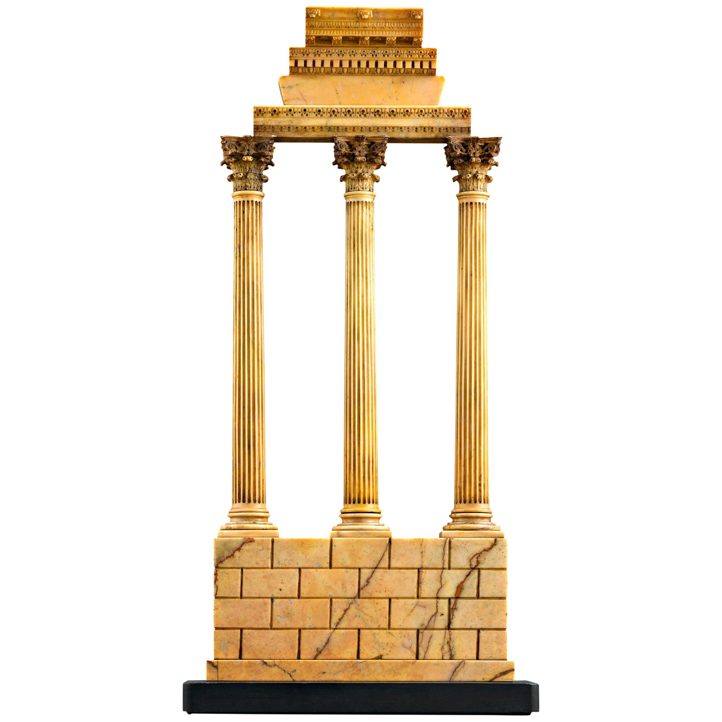 Grand Tour Souvenir Temple of Castor and Pollux