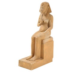 Grand Tour Statue of Pharaoh Hatshepsut After the Ancient Model
