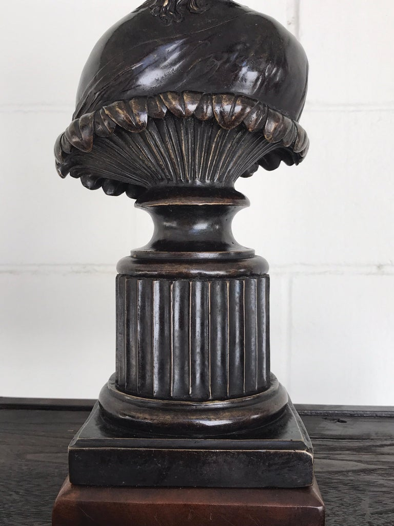 Grand Tour Style Bronze Bust of Clytie For Sale 3